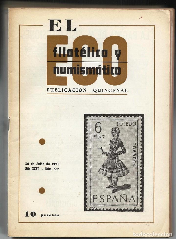 EL ECO FILATELICO Y NUMISMATICO. (Filatelia - Sellos - Catálogos y Libros)