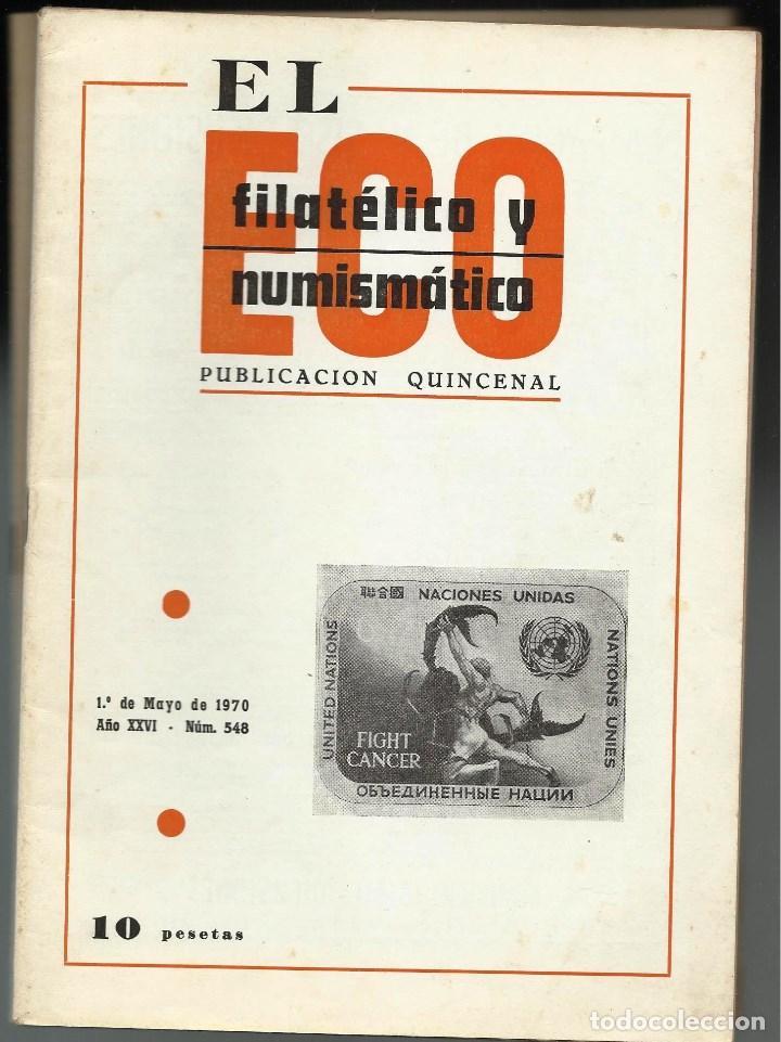 Sellos: EL ECO FILATELICO Y NUMISMATICO. - Foto 3 - 100078907
