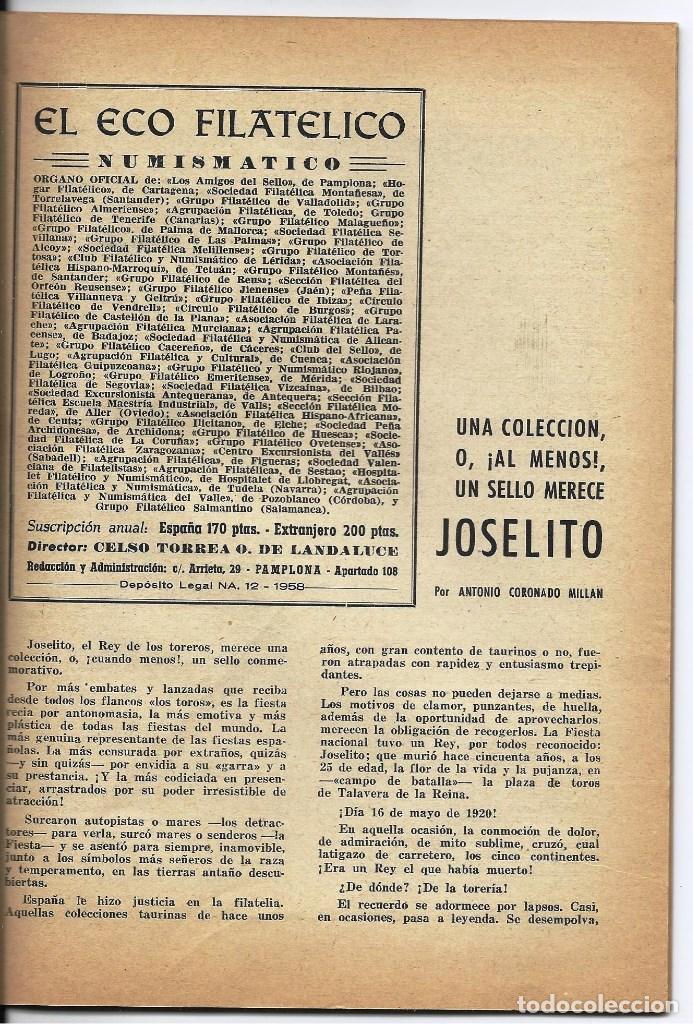 Sellos: EL ECO FILATELICO Y NUMISMATICO. - Foto 4 - 100078907