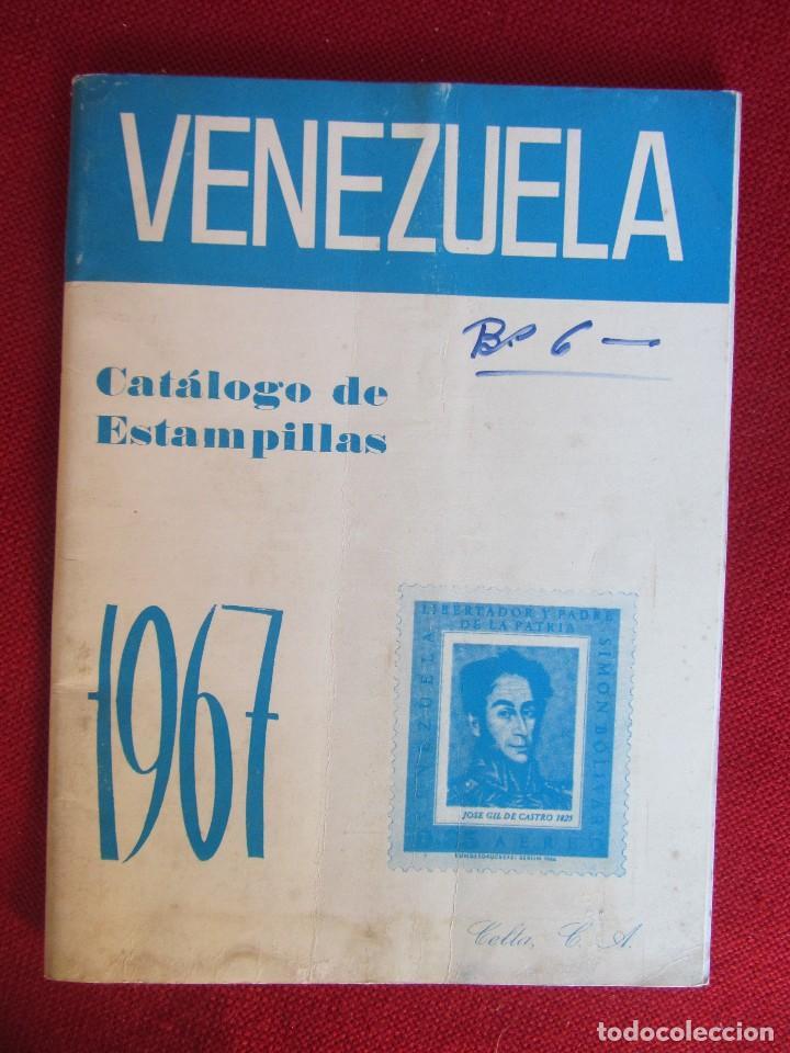 VENEZUELA CATÁLOGO DE ESTAMPILLAS 1967 (Filatelia - Sellos - Catálogos y Libros)