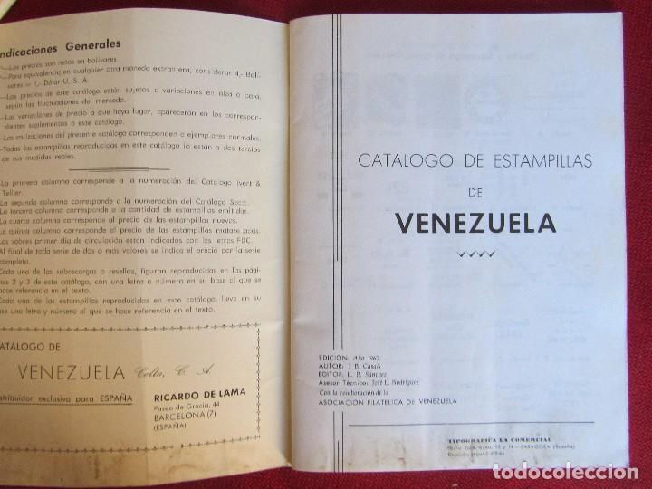 Sellos: VENEZUELA CATÁLOGO DE ESTAMPILLAS 1967 - Foto 3 - 100257955