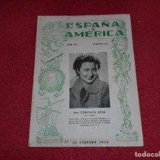 Sellos: ESPAÑA Y AMÉRICA - NÚMERO 43 - AÑO 1938. Lote 101282803