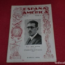 Sellos: ESPAÑA Y AMÉRICA - NÚMERO 44 - AÑO 1938. Lote 101282855