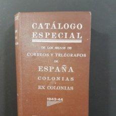 Sellos: CATÁLOGO ESPECIAL DE LOS SELLOS DE CORREOS Y TELEGRÁFOS DE ESPAÑA,COLONIAS Y EX COLONIAS. Lote 102384711