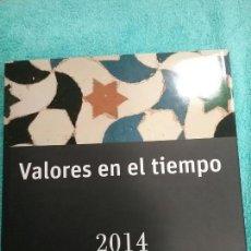Sellos: LIBRO VALORES EN EL TIEMPO DE CORREOS 2014 SIN SELLOS. Lote 106599407