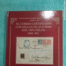 Sellos: EL CORREO CERTIFICADO SELLOS DE ALFONSO XIII PELON. Lote 104150020