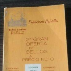 Sellos: 2 GRAN OFERTA DE SELLOS A PRECIO NETO FRANCISCO PEÑALBA 1972/1973. Lote 105447795