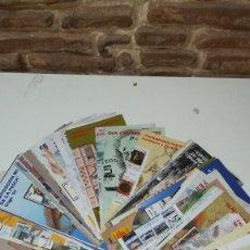 Sellos: 60 FOLLETOS PUBLICITARIOS DE SELLOS EMITIDOS POR CORREOS. Lote 106034583