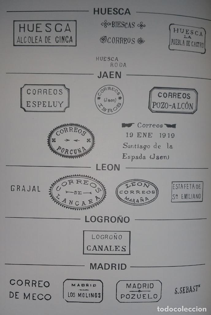 Sellos: Catálogo, Matasellos de las carterías españolas 1855-1922 José G. Sabariegos - Foto 4 - 108745799