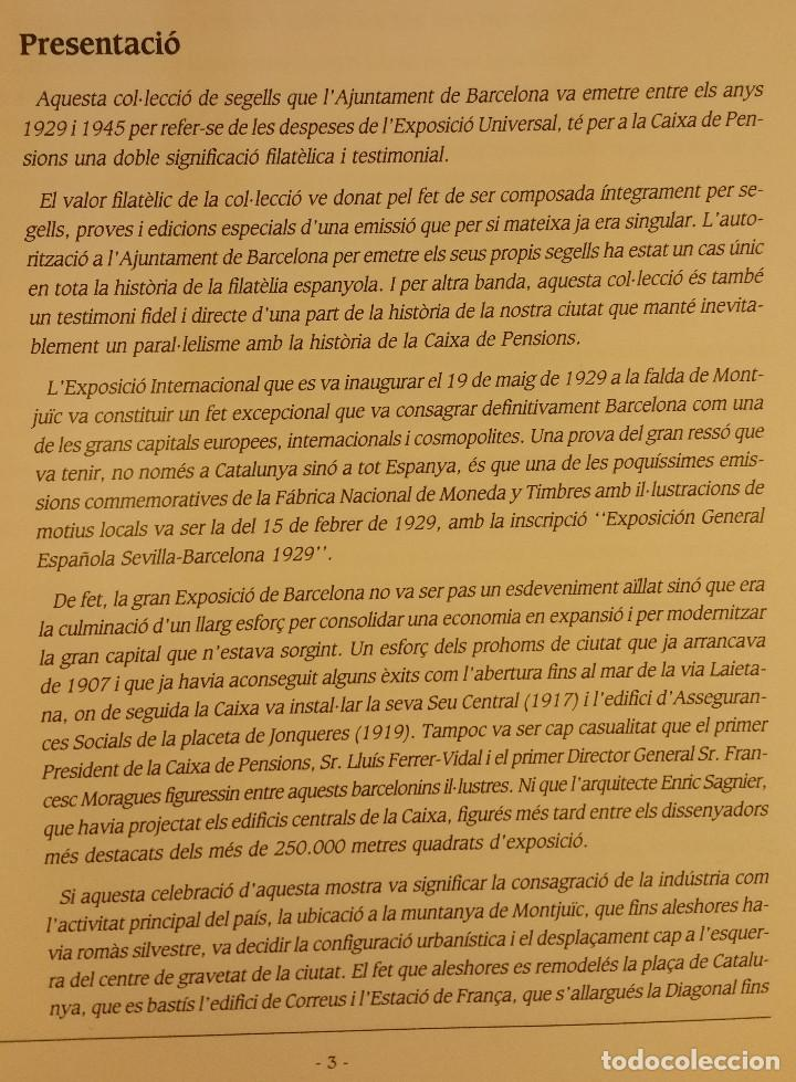 Sellos: CATALOGO, ELS SEGELLS DE LAJUNTAMENT DE BARCELONA - Foto 3 - 108746767