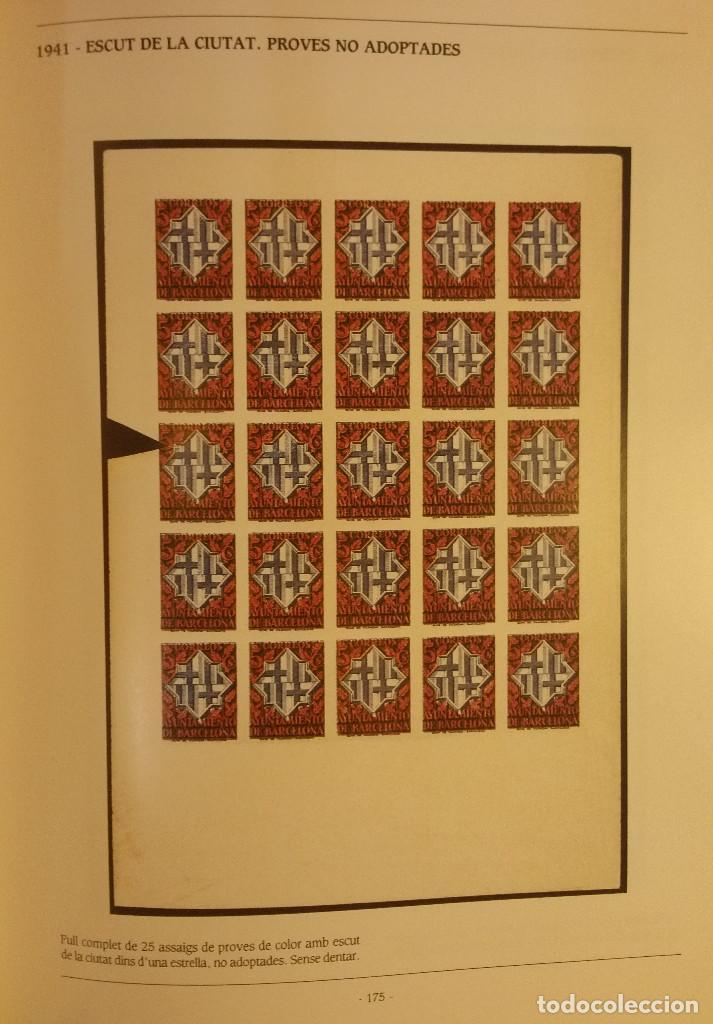 Sellos: CATALOGO, ELS SEGELLS DE LAJUNTAMENT DE BARCELONA - Foto 5 - 108746767