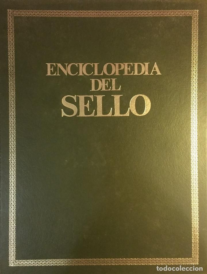 Sellos: Enciclopedia del Sello en 2 volúmenes de Sarpe - Foto 2 - 108747307