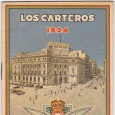 Sellos: LOS CARTEROS FELICITAN A V LAS PASCUAS DE NAVIDAD 1934. Lote 110089639