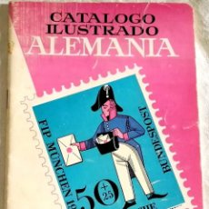 Sellos: CATÁLOGO ILUSTRADO ALEMANIA - RICARDO DE LAMA 1968. Lote 110132979