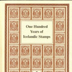 Sellos: ONE HUNDRED YEARS OF ICELANDIC STAMPS 1873-1973. Lote 111715327