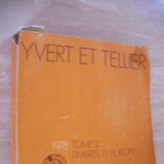 Sellos: GRAN CATALOGO SELLOS DE EUROPA 1978 (EM1). Lote 112465463