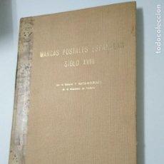 Sellos: MARCAS POSTALES ESPAÑOLAS SIGLO XVIII - GENERAL P. KOECHLIN. Lote 112752855
