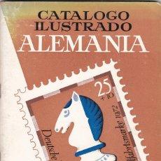Sellos: 9728 - CATALOGO ILUSTRADO DE SELLOS DE ALEMANIA 1973-74. Lote 112801195