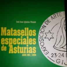 Sellos: MATASELLOS ESPECIALES DE ASTURIAS. AÑOS 1951/2008. JUAN JOSÉ IGLESIAS PINTADO. CAJASTUR. AÑO 2008. R. Lote 112985228