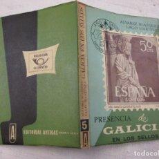 Sellos: PRESENCIA DE GALICIA EN LOS SELLOS. 1965 - ALVAREZ BLAZQUEZ - 1965, COL LA CORNETA, CARTA 1863 +. Lote 189936451