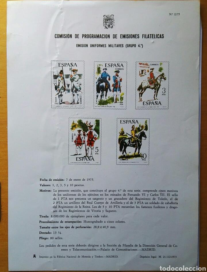 COMISIÓN DE PROGRAMACIÓN DE EMISIONES FILATELICAS N° 2 1975 (Filatelia - Sellos - Catálogos y Libros)