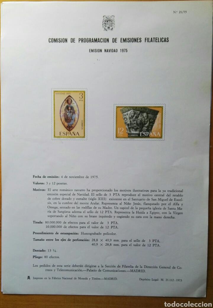 COMISIÓN DE PROGRAMACIÓN DE EMISIONES FILATELICAS N° 21 1975 (Filatelia - Sellos - Catálogos y Libros)