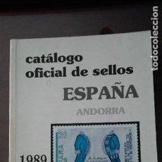 Sellos: ESPAÑA.- AÑO 1989 CATALOGO EDIFIL. Lote 113908199