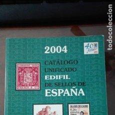 Sellos: ESPAÑA.- AÑO 2004 CATALOGO EDIFIL. Lote 113908263