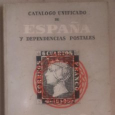 Sellos: CATÁLOGO UNIFICADO DE ESPAÑA Y DEPENDENCIAS POSTALES 1970. Lote 115710223