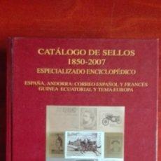 Sellos: CATÁLOGO ESPECIALIZADO ENCICLOPÉDICO DE ESPAÑA ANDORRA Y TEMA EUROPA. Lote 117820503