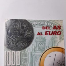 Sellos: DEL AS AL EURO UNA HISTORIA DEL DINERO EN CASTILLA LA MANCHA. Lote 119024876