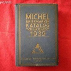 Sellos: CATALOGO ALEMAN.MICHEL EUROPA.1939.. Lote 119382655