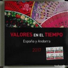 Sellos: BLOQUE DE 4 DEL SELLO DE LEÓN CON ERROR Y LIBRO SELLOS ESPAÑA Y ANDORRA 2017.ENVIO 8,00 € CERTIFICAD. Lote 140236225