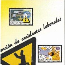 Sellos: == JN13 - FOLLETO - INFORMACION Nº 1/84 - PREVENCION DE ACCIDENTES LABORALES. Lote 120150879