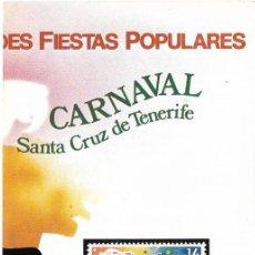 Sellos: == JN16 - FOLLETO - INFORMACION Nº 4/84 - GRANDES FIESTAS POPULARES - CARNAVAL SANTA CRUZ DE TENERIF. Lote 120152647
