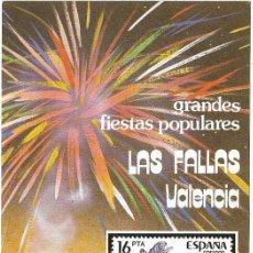 Sellos: == JN17 - FOLLETO - INFORMACION Nº 5/84 - GRANDES FIESTAS POPULARES - LAS FALLAS - VALENCIA. Lote 120152791