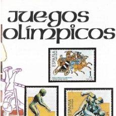 Sellos: == JN29 - FOLLETO - INFORMACION Nº 18/84 - JUEGOS OLIMPICOS. Lote 120160979