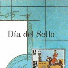 Sellos: == JN35 - FOLLETO - INFORMACION Nº 24/84 - DIA DEL SELLO. Lote 120200535