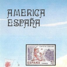 Sellos: == JN36 - FOLLETO - INFORMACION Nº 25/84 - AMERICA ESPAÑA. Lote 120202935