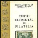 Sellos: B714 - CURSO ELEMENTAL DE FILATELIA. VALENCIA. 1968.. Lote 121178355