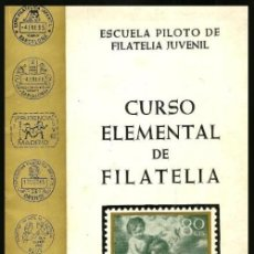 Sellos: CURSO ELEMENTAL DE FILATELIA. VALENCIA. 1968.. Lote 190873552