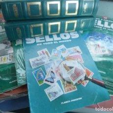 Sellos: CONOCER Y COLECCIONAR SELLOS DE TODO EL MUNDO 96 DE 100 SIN LOS SELLOS SOLO 9 AL 16 COMPLETOS . Lote 126401924