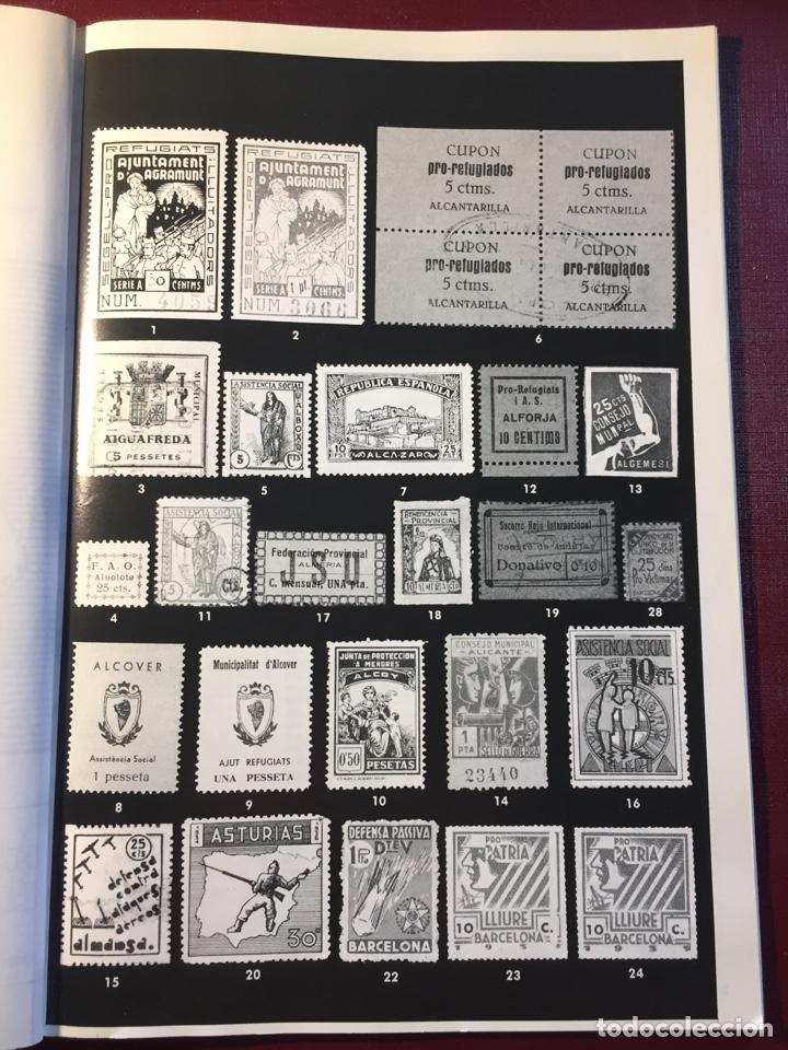 Sellos: Libro: España Guerra Civil 1936/1939.Filatelia LLACH(Barcelona 1994). - Foto 3 - 121984255