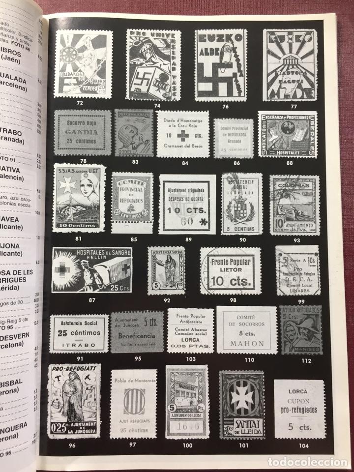 Sellos: Libro: España Guerra Civil 1936/1939.Filatelia LLACH(Barcelona 1994). - Foto 5 - 121984255
