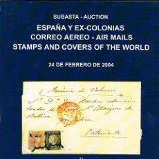 Briefmarken - Catalogo subasta Soler y Llach. España y Ex-colonias, Correo aereo. año 2004 - 122372411