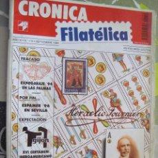 Sellos: REVISTA CRONICA FILATELICA Nº 114 SEPTIEMBRE 1994. Lote 123288779