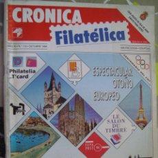 Sellos: REVISTA CRONICA FILATELICA Nº 115 OCTUBRE 1994. Lote 123288831