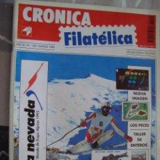 Sellos: REVISTA CRONICA FILATELICA Nº 109 MARZO 1994. Lote 123289451