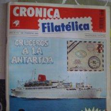 Sellos: REVISTA CRONICA FILATELICA Nº 108 FEBRERO 1994. Lote 123289487