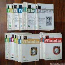 Sellos - REVISTA DE FILATELIA N°1 DE 1967 AL N° 66 DE AGOSTO 1973 - 123694743